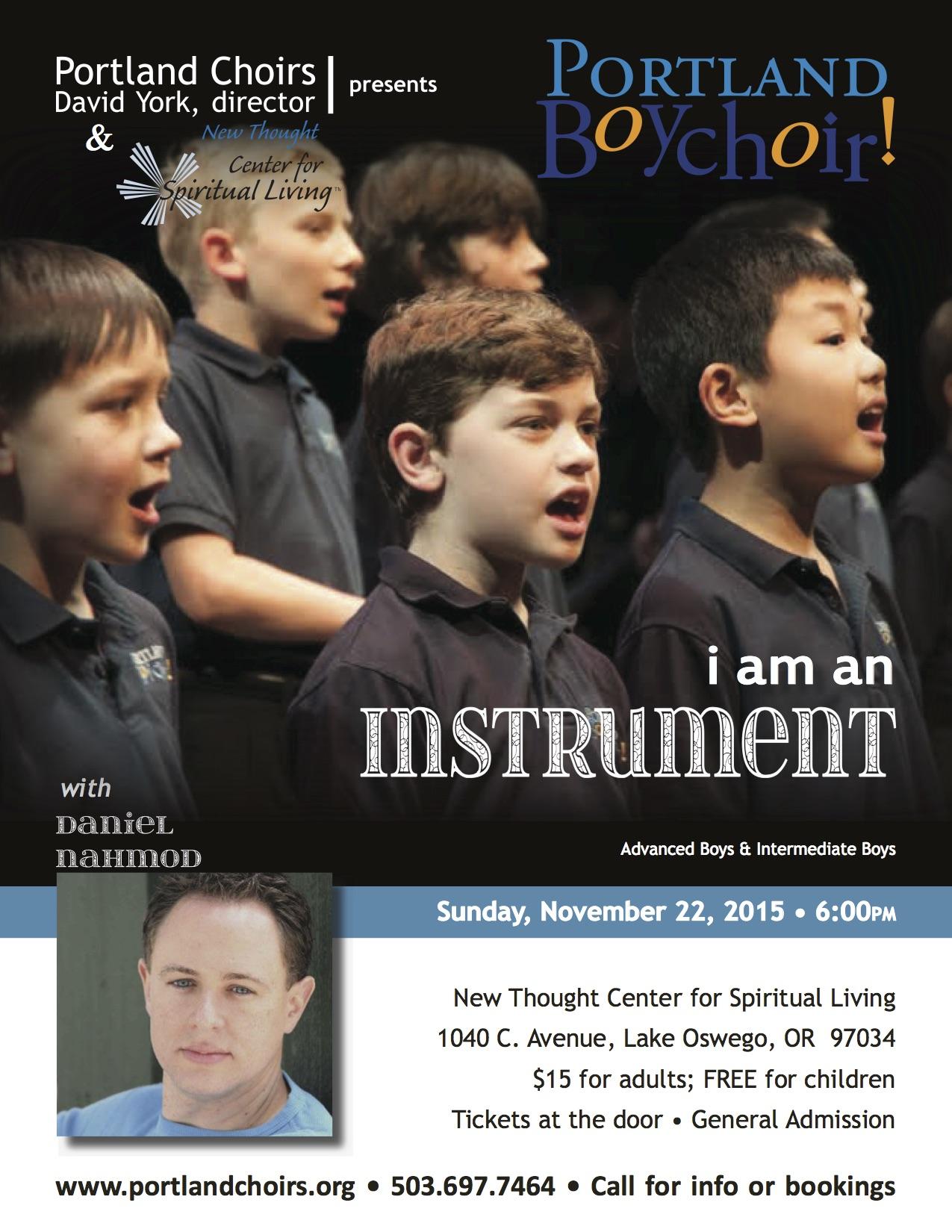 I Am an Instrument PortlandBoychoir 112215 Final